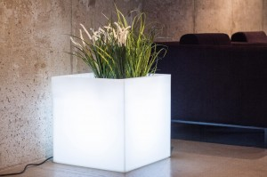 Donica Pixel Pot LED 50 cm