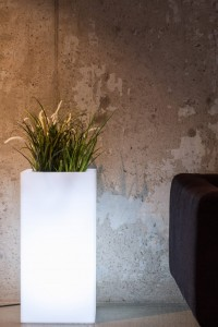 Donica Tower Pot LED 70 cm